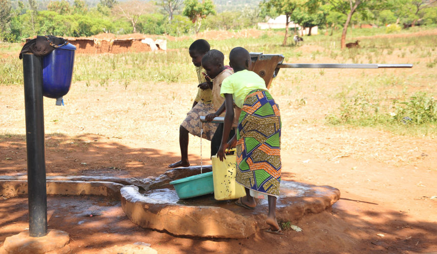 Bringing Water close to the Communities