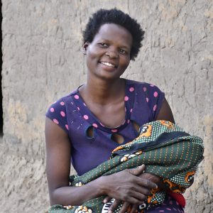 A life saved through SAO's Primary Health Care Program in Mbale